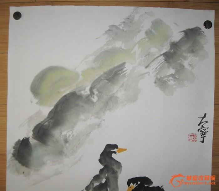 国画 鸭子2
