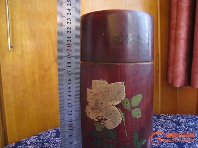 老竹茶叶筒