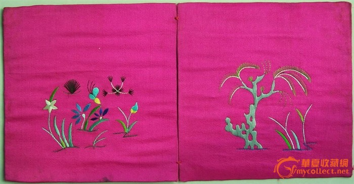 芝兰玉树 刺绣枕头顶 7图片