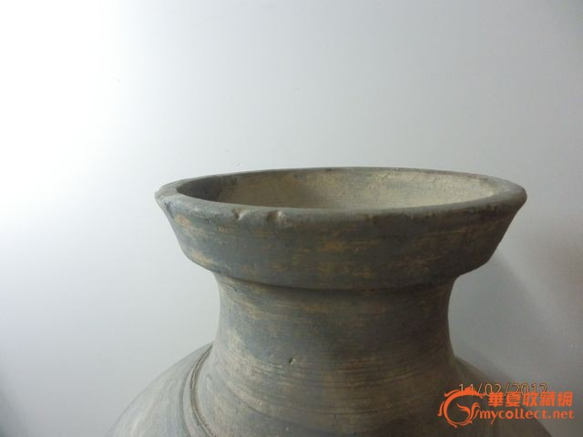 陶姓壁纸- 高径旋纹陶罐图片 来自藏友姓高名古 cang.com