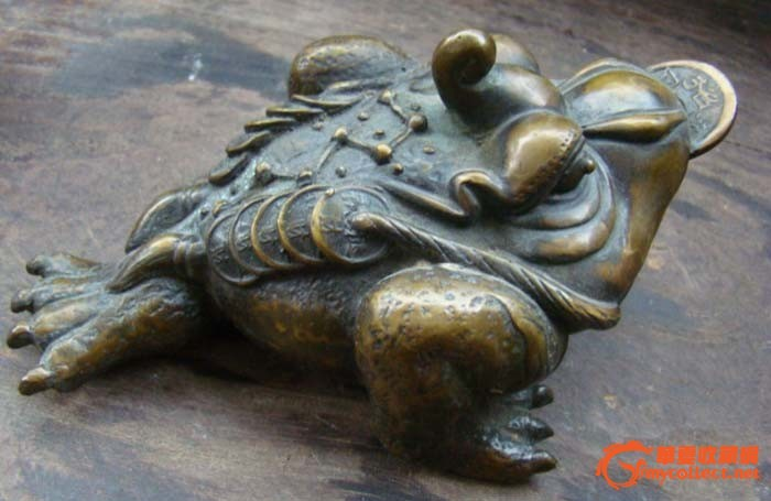 金蟾石膏雕塑图片大全