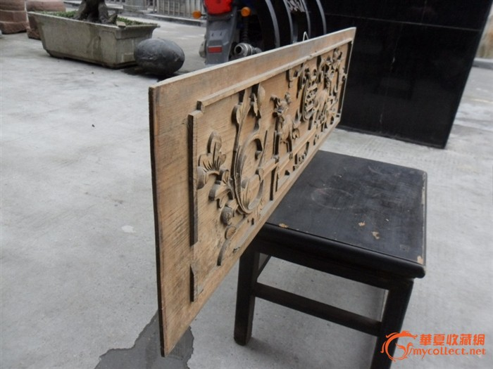 木雕花板_木雕花板价格_木雕花板图片_来自藏友古风阁
