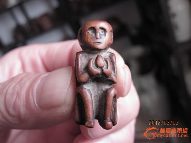 木雕小猴子