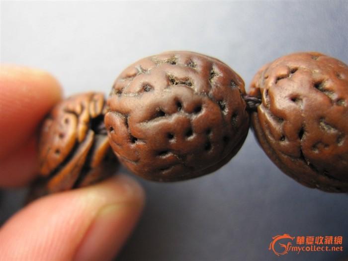 野生核桃手串怎么盘变红_桃胡手串包浆图片 怎样把桃核磨圆