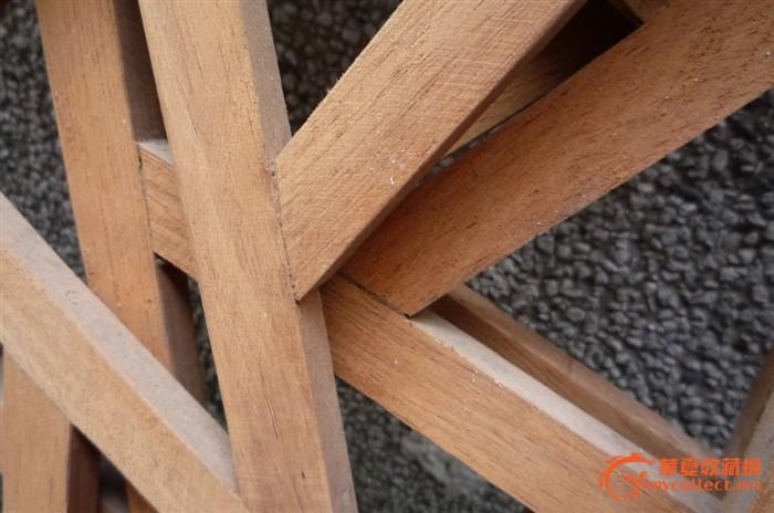 废材木板做花架