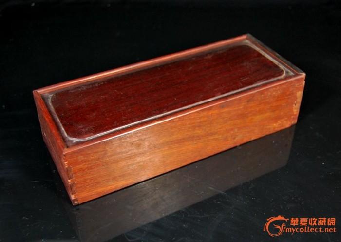 老花梨木抽盒,全榫卯结构