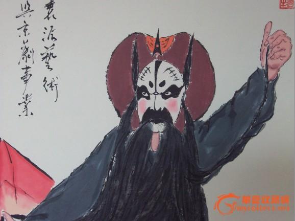 京剧人物-----芦花荡张飞