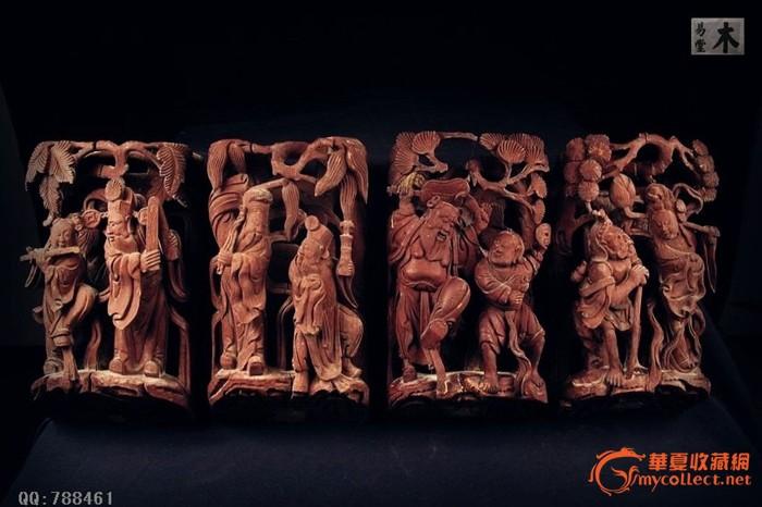 【八仙】木雕_【八仙】木雕价格_【八仙】木雕图片_藏