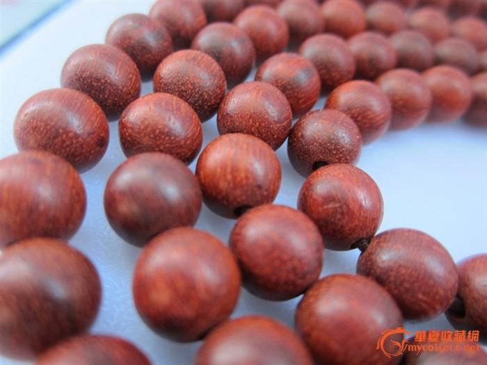 小叶紫檀木佛珠每颗珠子8mm