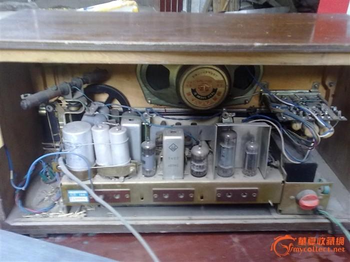 上海144型六灯三波段电子管收音机