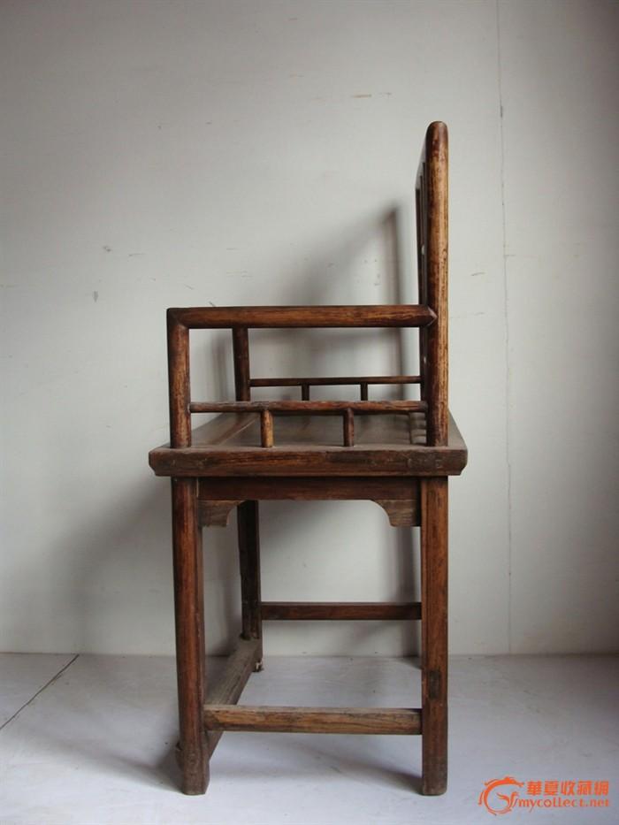 上一核桃木玫瑰椅