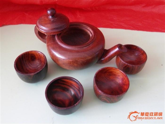红木茶壶摆件-图2