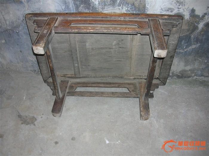 老炕桌榫卯结构图解