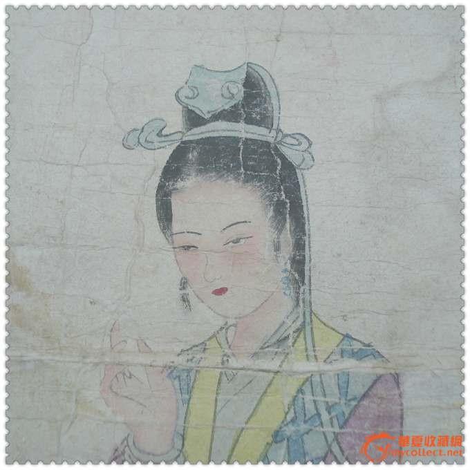 碧梧新思x民国手绘人物水彩肖像画