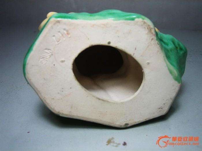 动物陶塑宗师区乾作品---子母鸡(六七十年代制造)