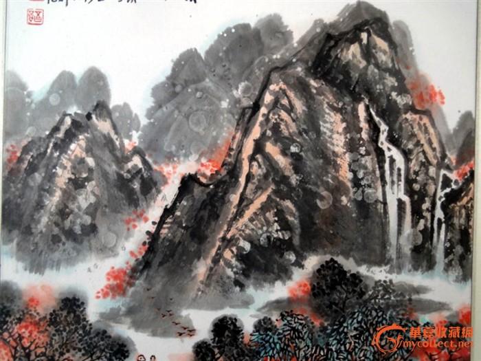 安徽八老画家---王石岑山水欣赏图片