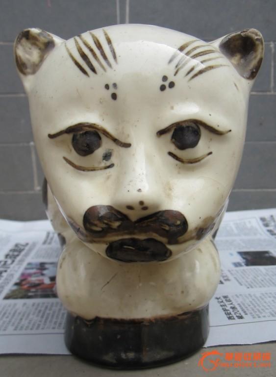 民国瓷猫-图3