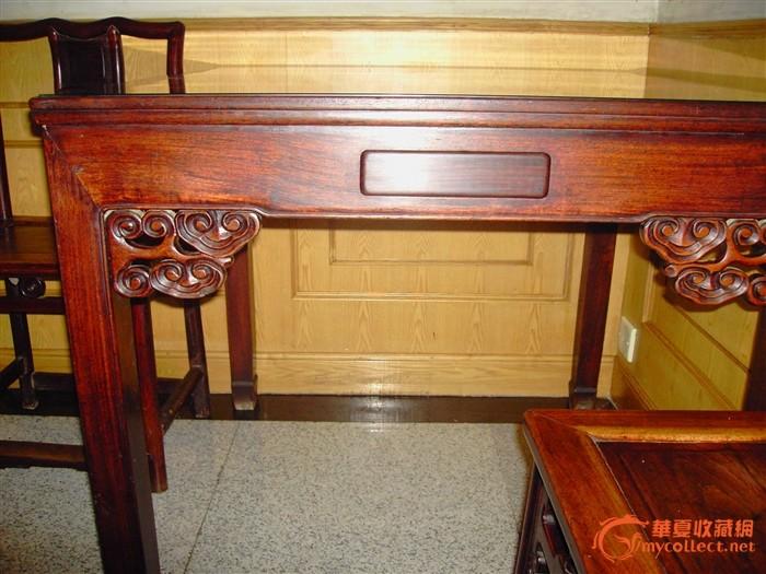 民国红木(灵子花.花梨木麻将桌)