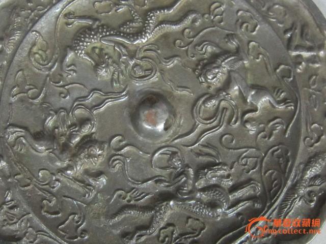 唐代青铜花边镜
