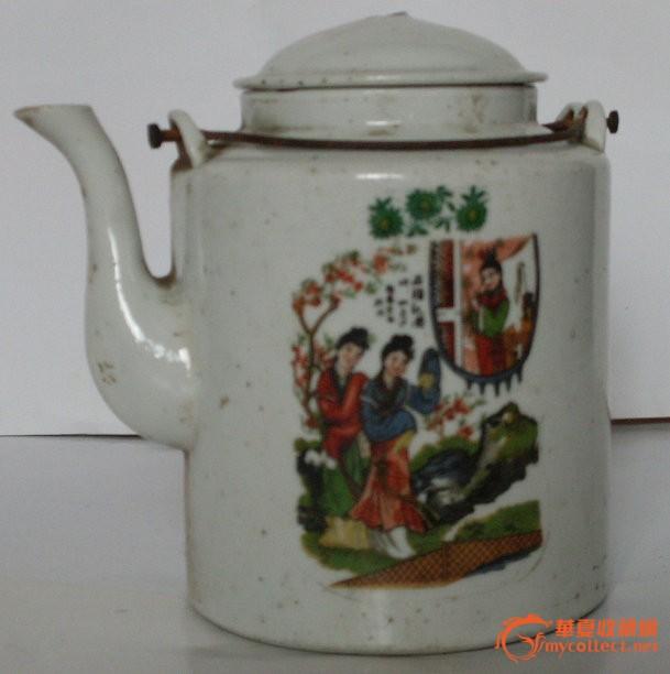 瓷茶壶 图1