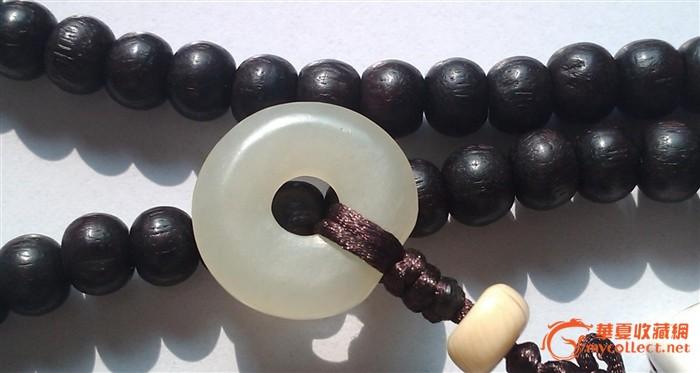 藏传108紫檀多宝佛珠加玛瑙手串