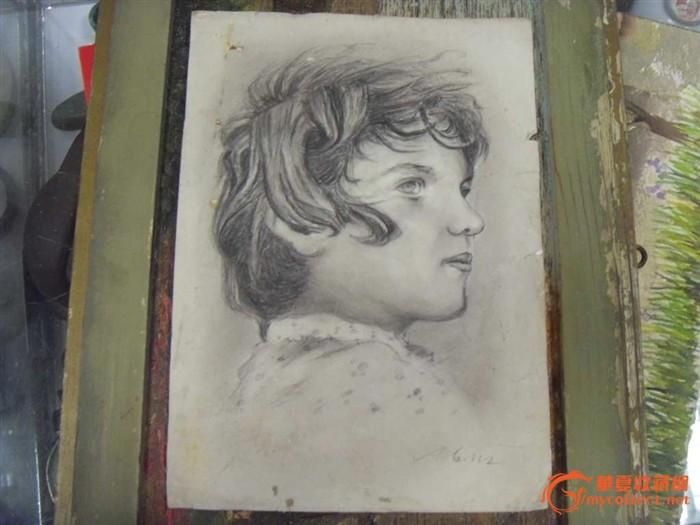 文革画家的 外国小男孩