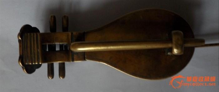 八戒琵琶琴铜锁
