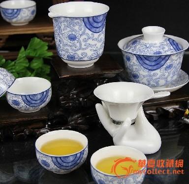 景德镇陶瓷茶具 粉彩茶具