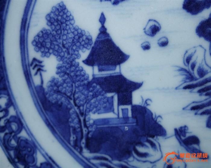 欧式装饰风格清五彩花鸟纹观音瓶烛台