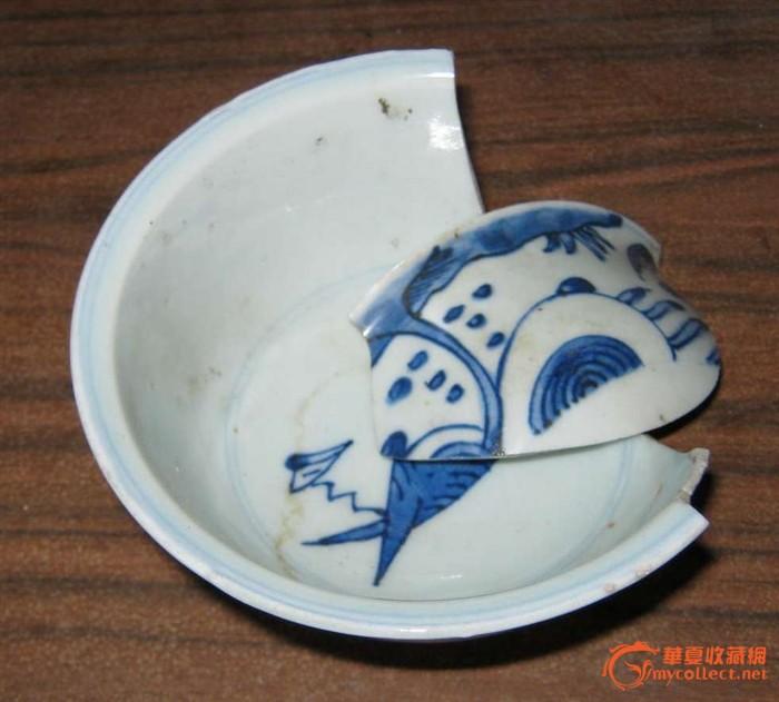 青花博古花瓶