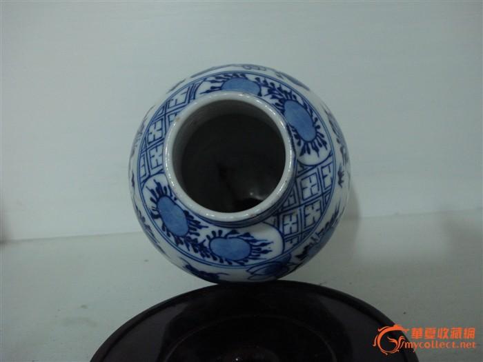 清代青花瓶 美品 图3