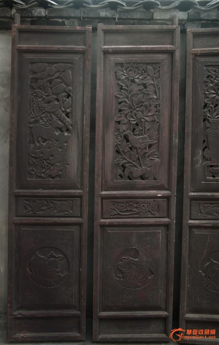 a003古门 老门 中式手工雕花门