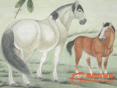 【送礼佳品】画家张永权 十二生肖工笔画之马系列