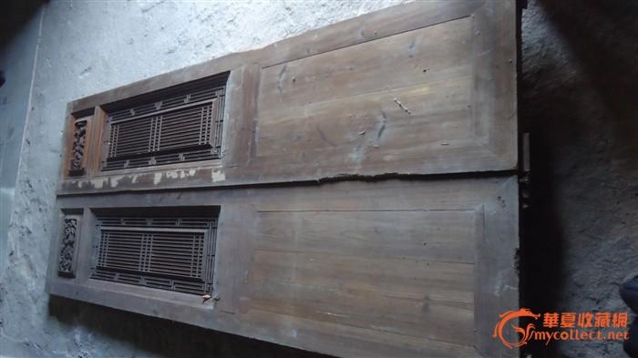 八片老房子大廳門板