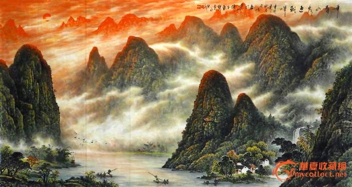 桂林人,职业画家,现为桂林美术协会会员