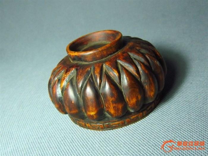 黄杨木雕小香炉