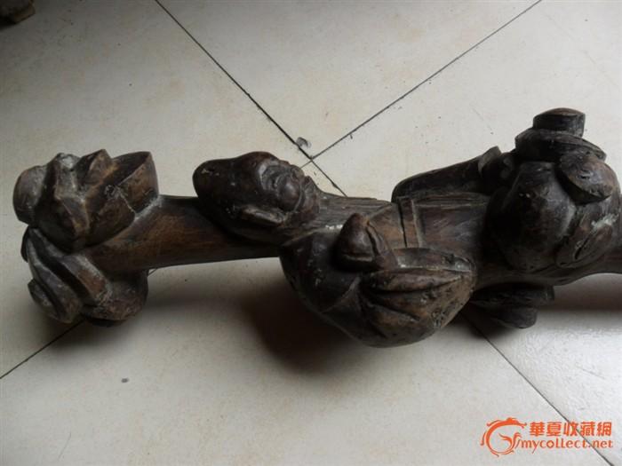寿星木雕拐杖_寿星木雕拐杖价格