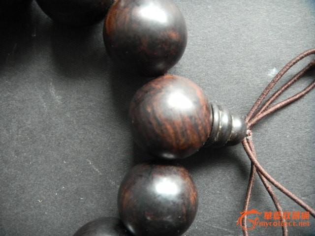 天然 紫檀木 手串