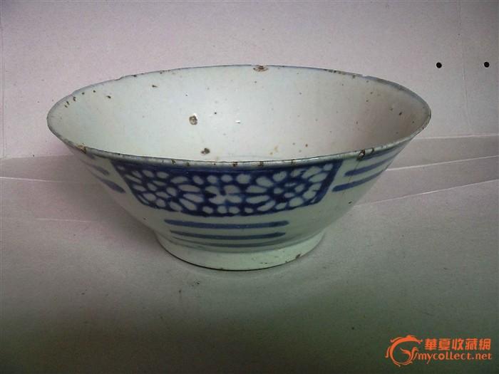 清代青花大瓷碗