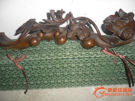 包老黄杨木雕宝葫芦吉祥大如意