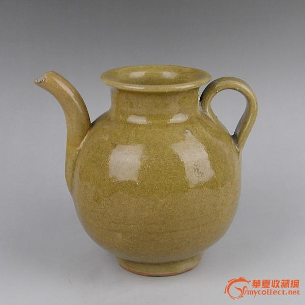 元代龙泉青瓷壶