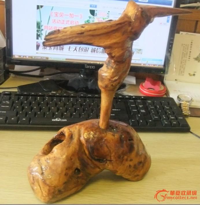 动物根雕艺作品图