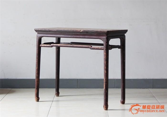 �k�R@_圆腿 圆枨 圆马蹄 ·之 琴桌