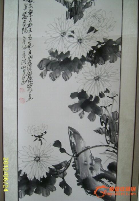 清雨点的四君子 清雨点的四君子价格 清雨点的四君子图片 来自藏友桃园结义 字画 cang.com