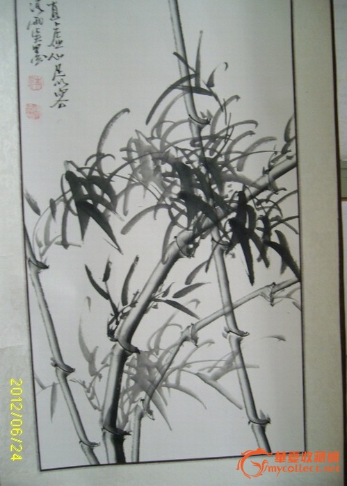 清雨点的四君子 清雨点的四君子价格 清雨点的四君子图片 来自藏友惊动胡一统 字画 cang.com